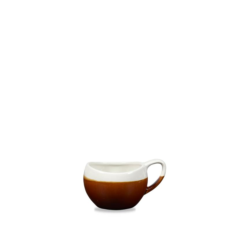 Monochrome Cinnamon Brown Bulb Mug 6.3Oz Box 6