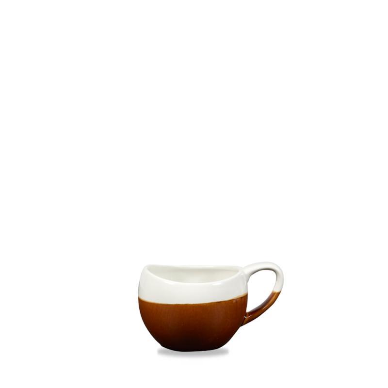 Monochrome Cinnamon Brown Bulb Mug 8.5Oz Box 6