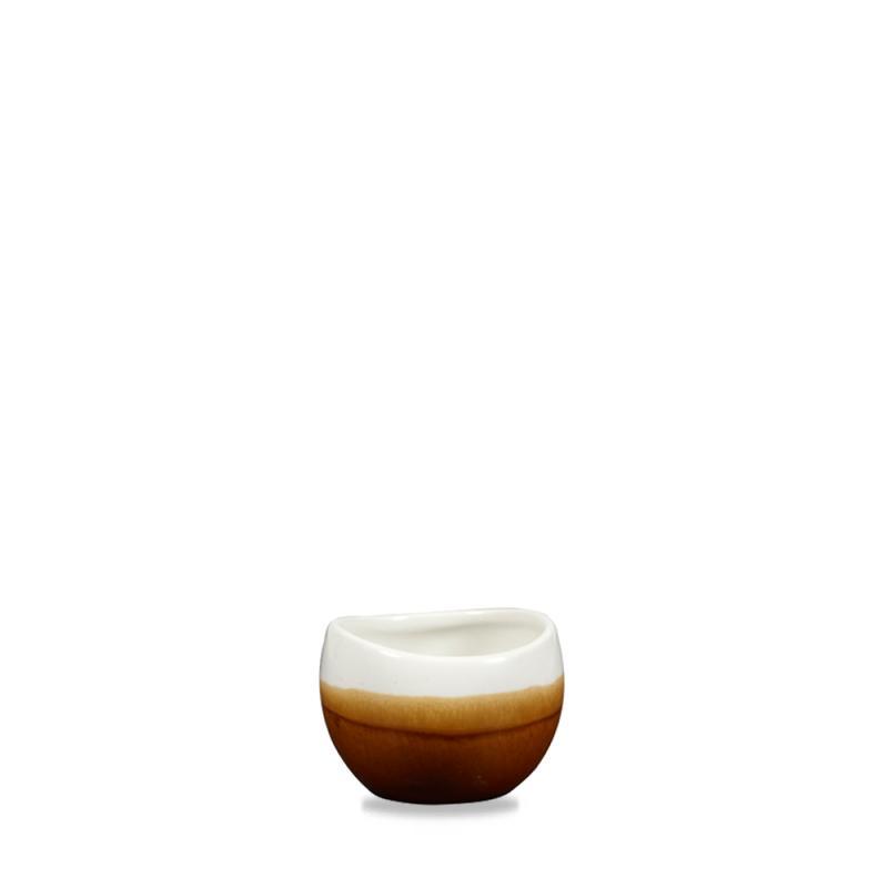 Monochrome Cinnamon Brown Bulb Chip Mug 10.5Oz Box 6