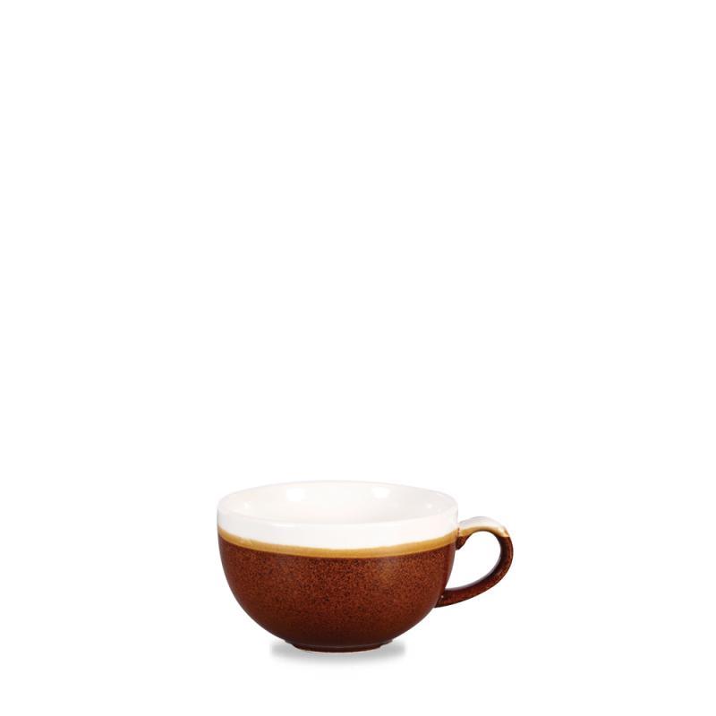 Monochrome Cinnamon Brown  Cappuccino Cup 8Oz Box 12