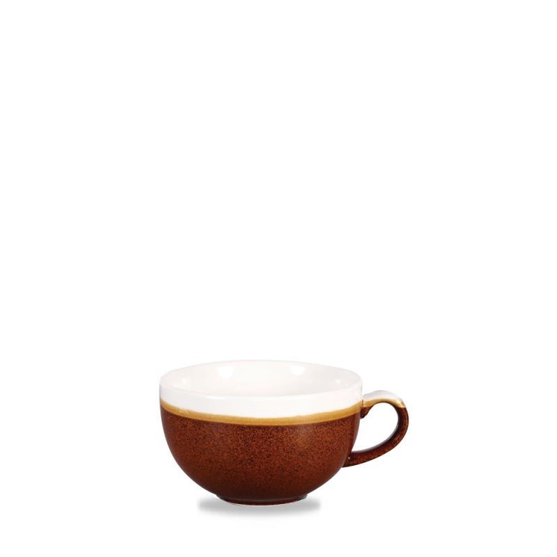 Monochrome Cinnamon Brown  Cappuccino Cup 12Oz Box 12