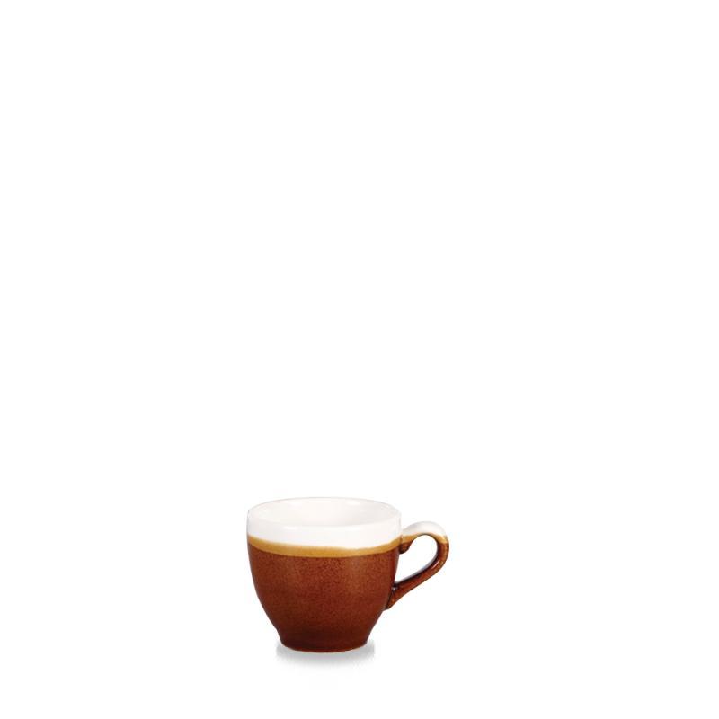 Monochrome Cinnamon Brown  Espresso Cup 3.5Oz Box 12