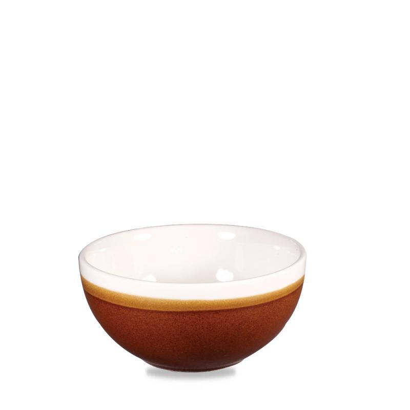 Monochrome Cinnamon Brown  Soup Bowl 16Oz Box 12