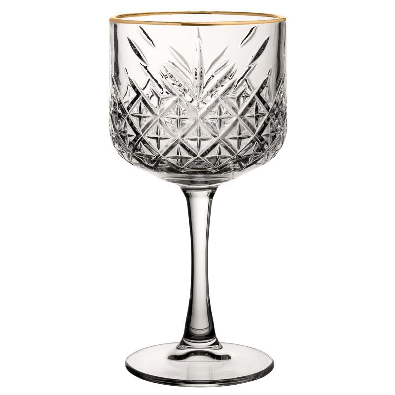 Timeless Vintage Cocktail Gold Rim 19.25oz (55cl)