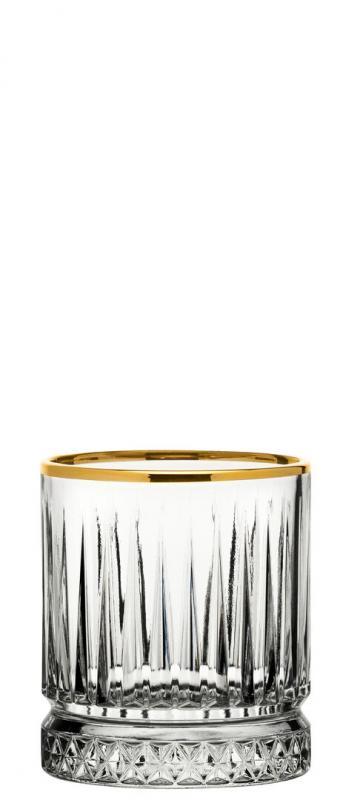 Elysia Old Fashioned Gold Rim 7oz (21cl)