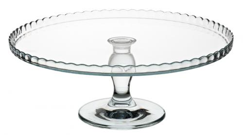 "Patisserie Upturn Footed Plate 12.5"" (32cm)-1"