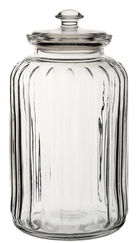 Viva Ribbed Storage Jar 88oz (250cl)