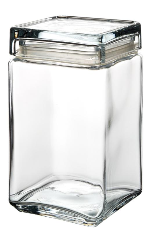 Square Biscotti Jar 1.5L-6