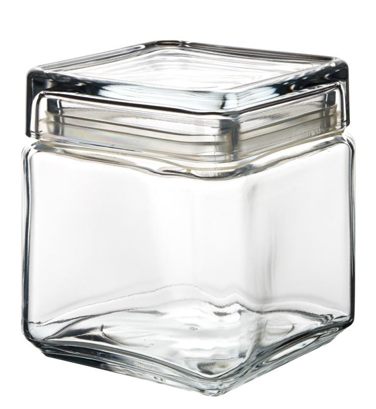 Square Biscotti Jar 1L-6