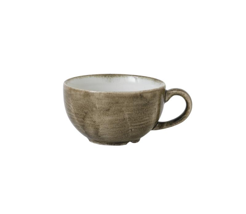 Stonecast Patina Antique Taupe  Cappuccino Cup 12Oz Box 12