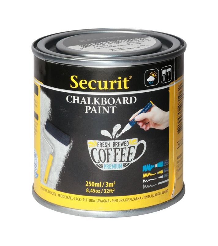 Securit® Chalkboard paint - Small