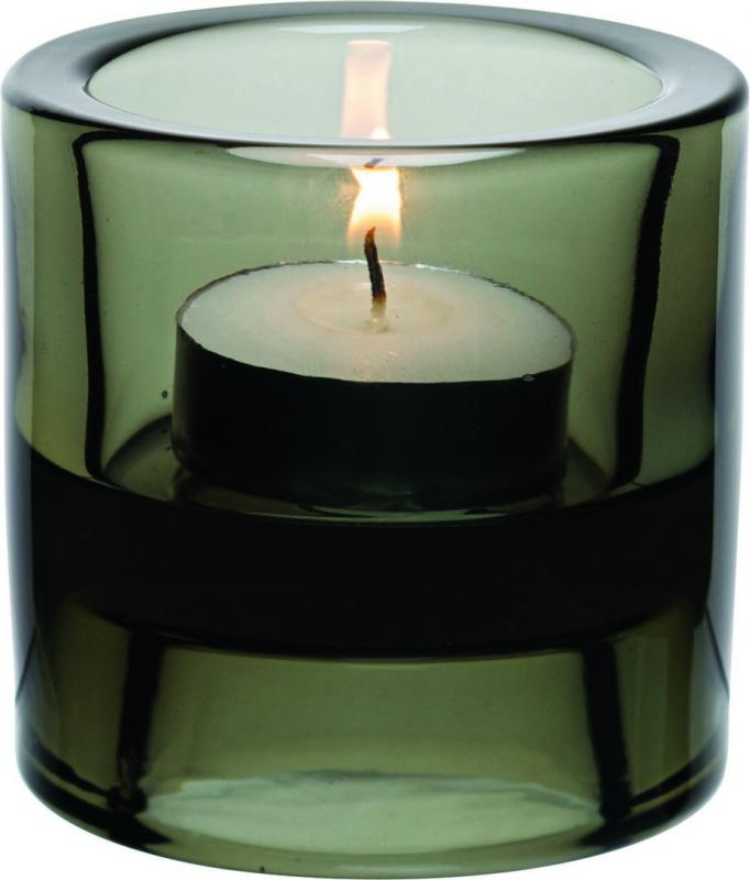 "Black Double Ended Tealight Holder 2.75"" (7cm)12"