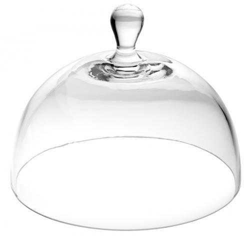 """Glass Cloche 7.5"""" (19cm)-1"""
