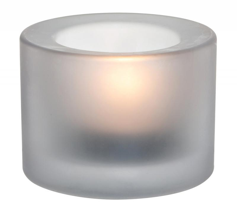 Chunky Tealight Holder - White12