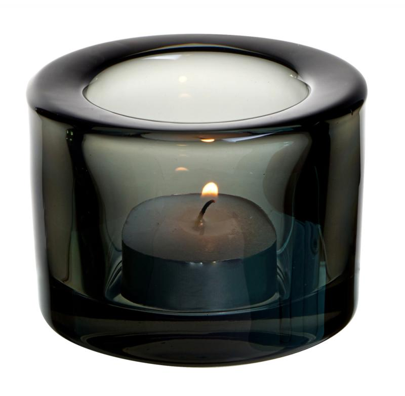Chunky Tealight Holder - Black12