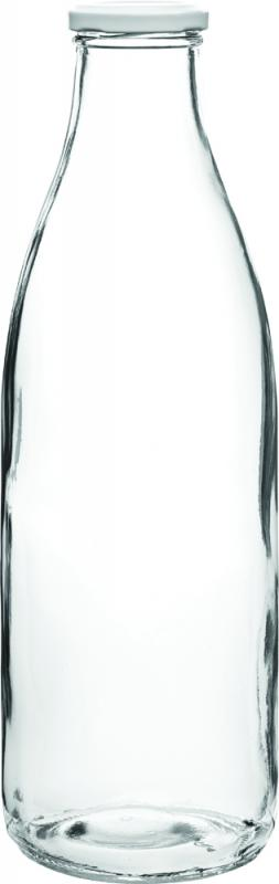 Glaskaraff i glas med lock 1 L