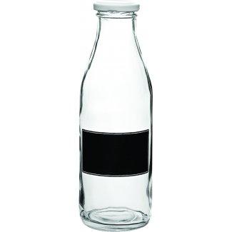 Lidded Bottle 0.5L (17.5oz) - with Blackboard Design12