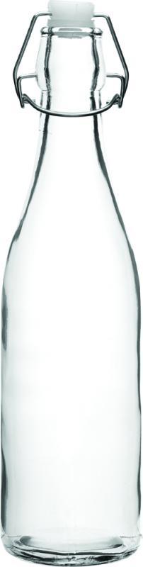 Glaskflaska med kork 50 cl