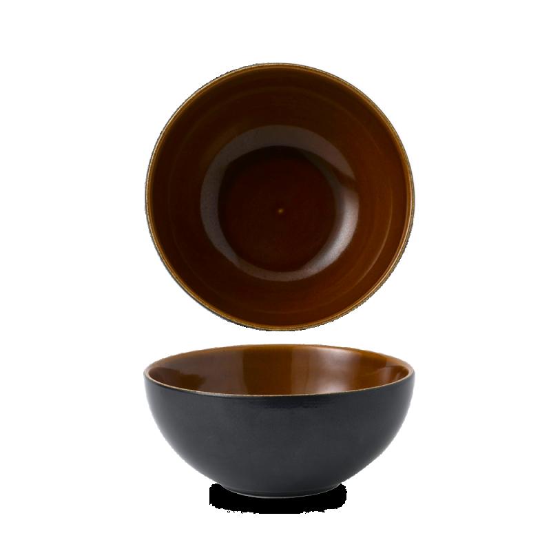 Black Onyx Two Tone  Noodle Bowl 42Oz Box 6