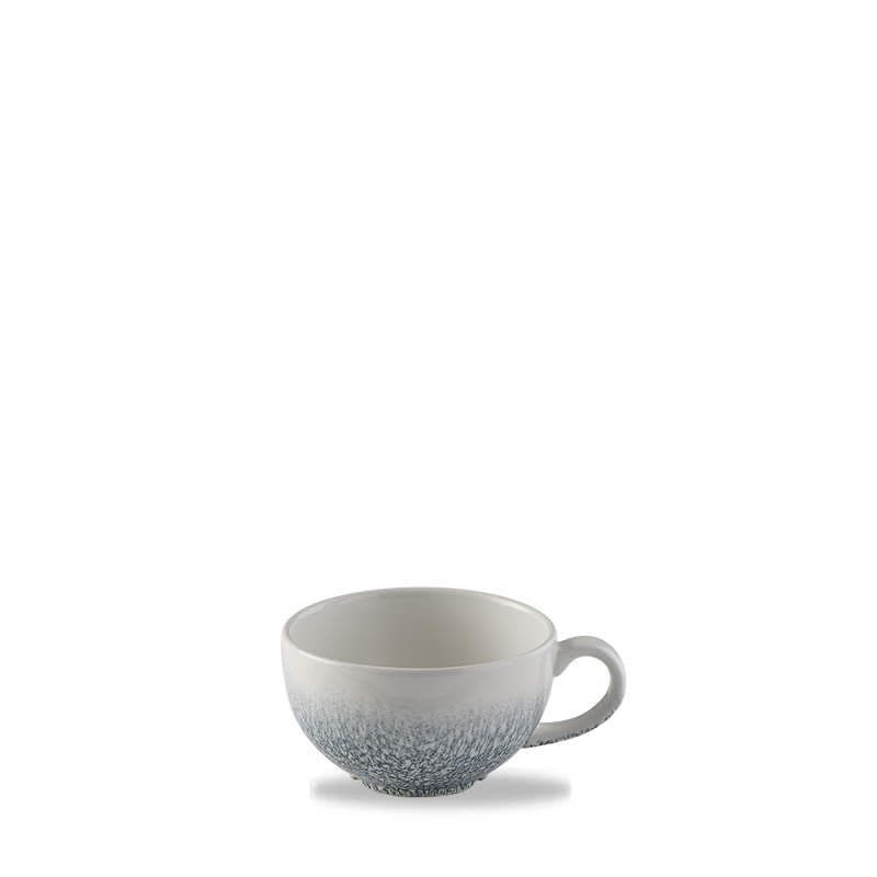 Raku Topaz Blue  Cappuccino Cup 8Oz Box 12