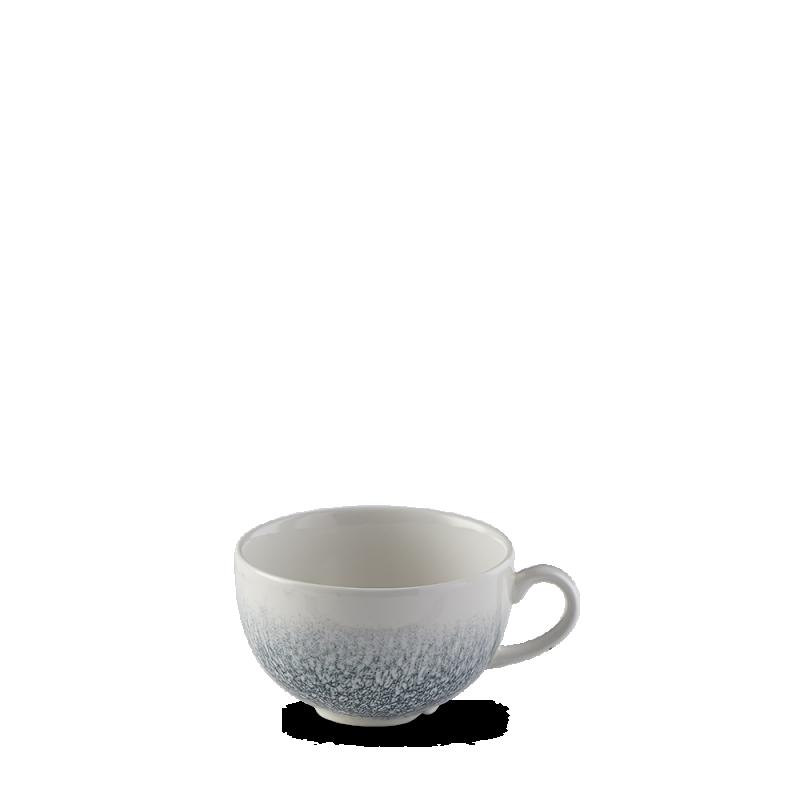 Raku Topaz Blue  Cappuccino Cup 12Oz Box 12