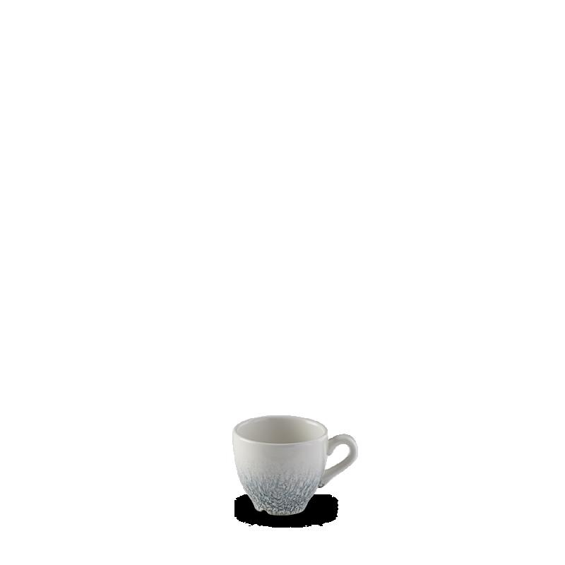 Raku Topaz Blue  Espresso Cup 3.5Oz Box 12