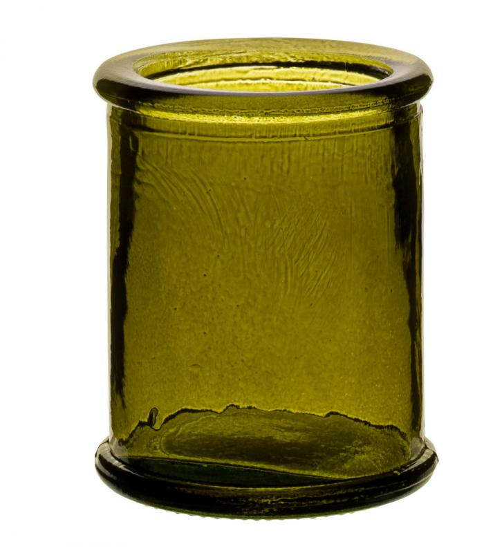 """Authentico Candleholder Green 3"""" (8cm)12"""