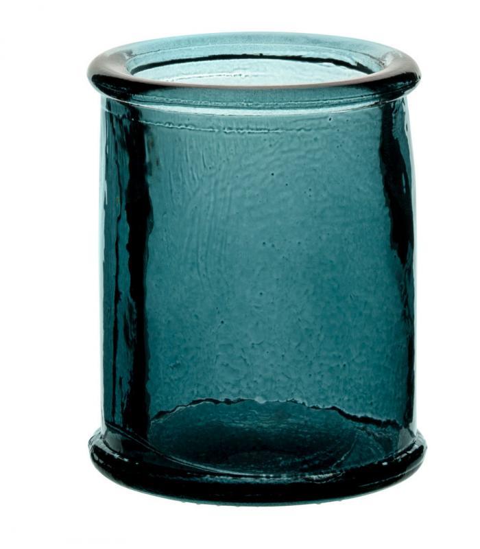 """Authentico Candleholder Blue 3"""" (8cm)12"""