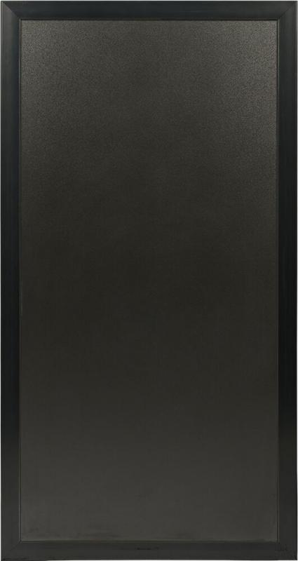 Securit® Multiboard™ system with colored polypropylene frame.