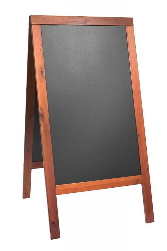 Woody, chalk board, lacquered mahogany finish 7...