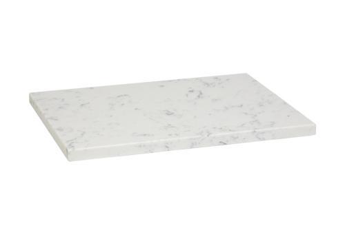 "Quartz Composite ""Marble"" Plate"