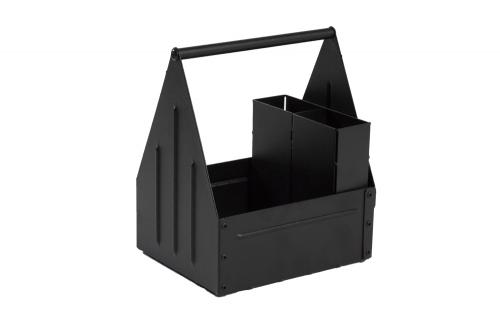 Toolbox with cutlery compartments