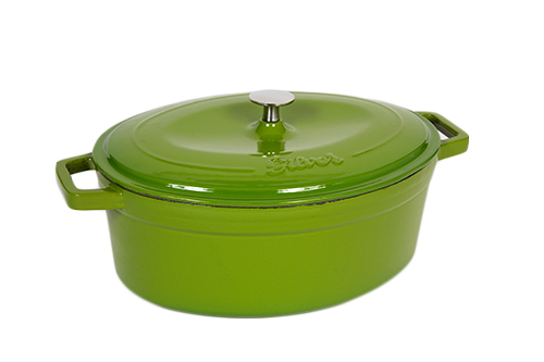 Oval Cooking Pot 5L 23x30cm