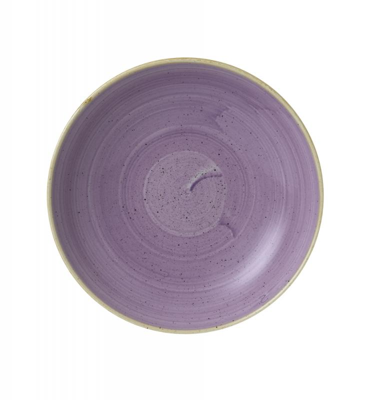 "Stonecast Lavender Evolve Coupe Bowl 9.75"" Box 12"