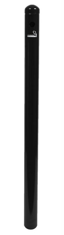 Securit® Smoking post  - Black stainless steel - 100cm (base not included)