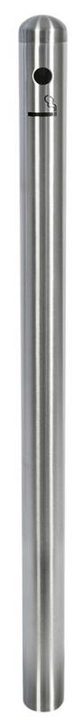 Securit® Smoking post  - stainless steel - 100cm (base not included)