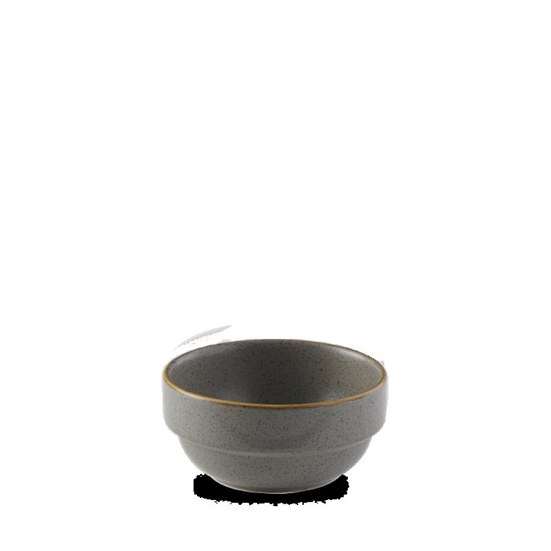 Stonecast Grey Profile Stacking Bowl 12.6Oz Box 6