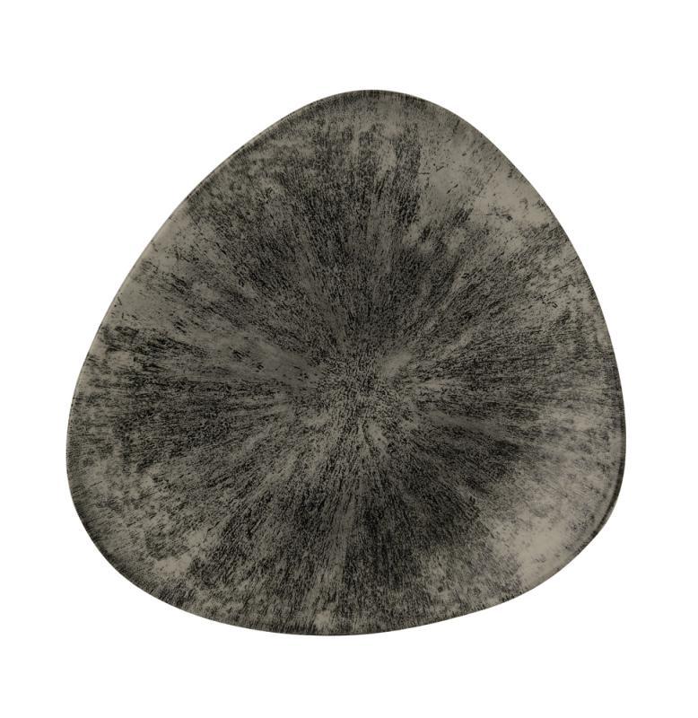 "Stone Quartz Black Lotus Plate 10"" Box 12"