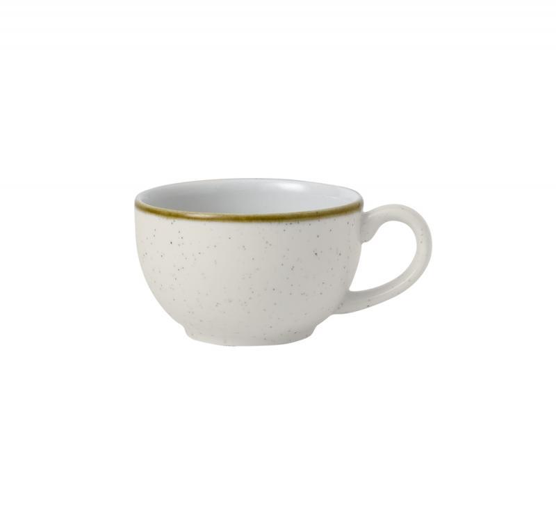 Stonecast Barley White  Cappuccino Cup 6Oz Box 12
