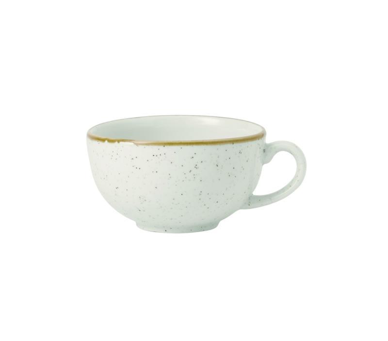 Stonecast Barley White  Cappuccino Cup 10Oz Box 12