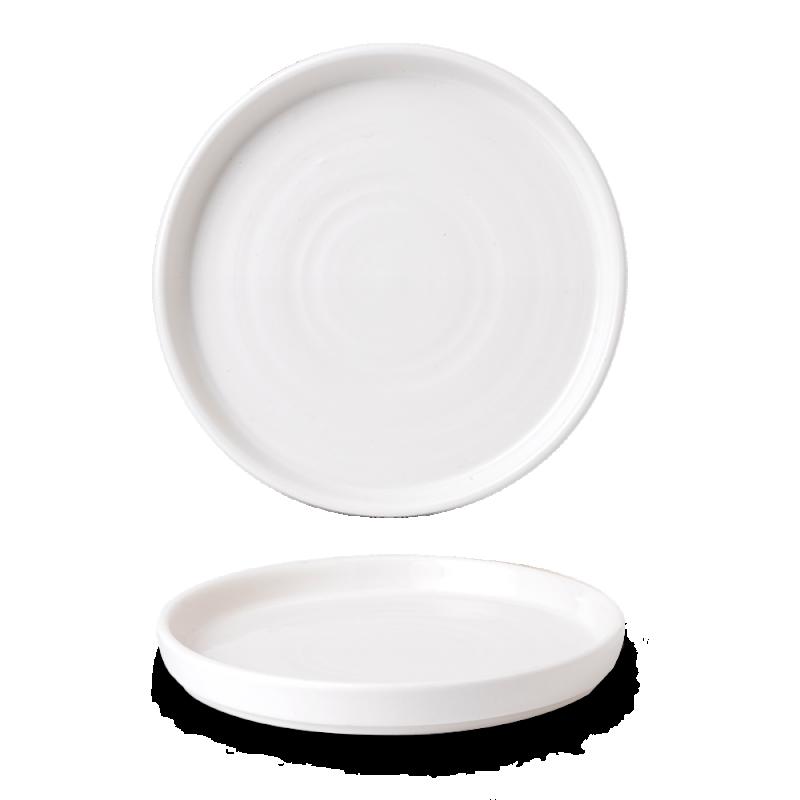 "Vellum  Walled Plate 10 2/8"" Box 6"