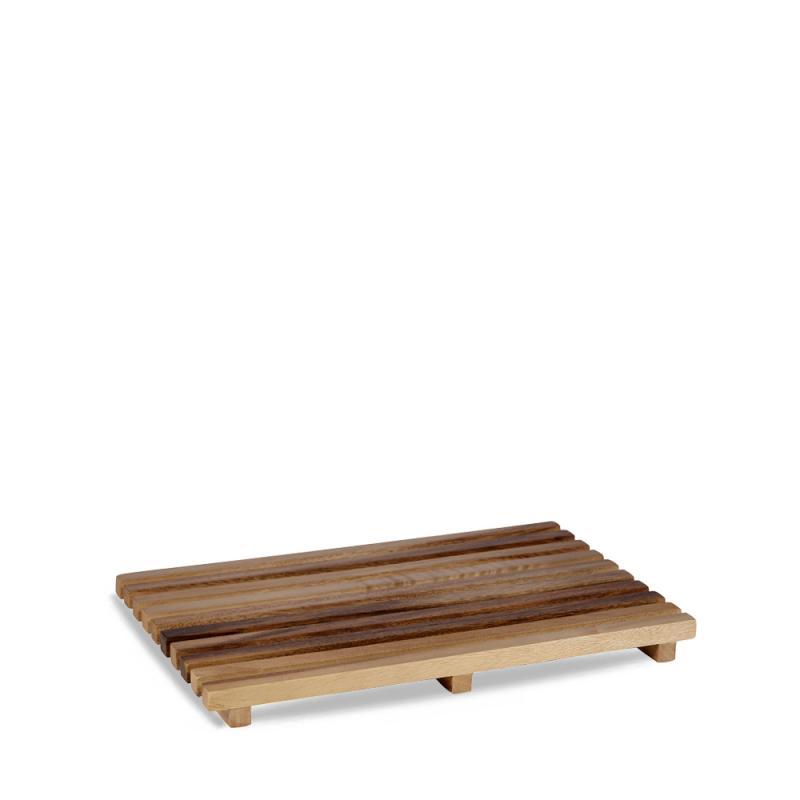 """Wood  Bread Board 9 1/5"""" X 14 7/10"""" Box 4"""