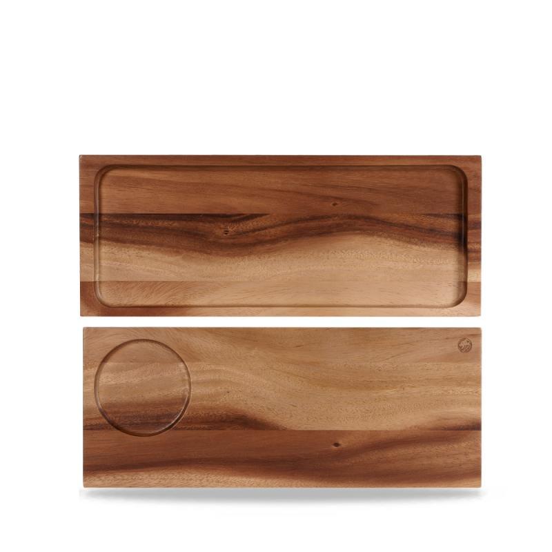 Acacia Wood Large Serving Board