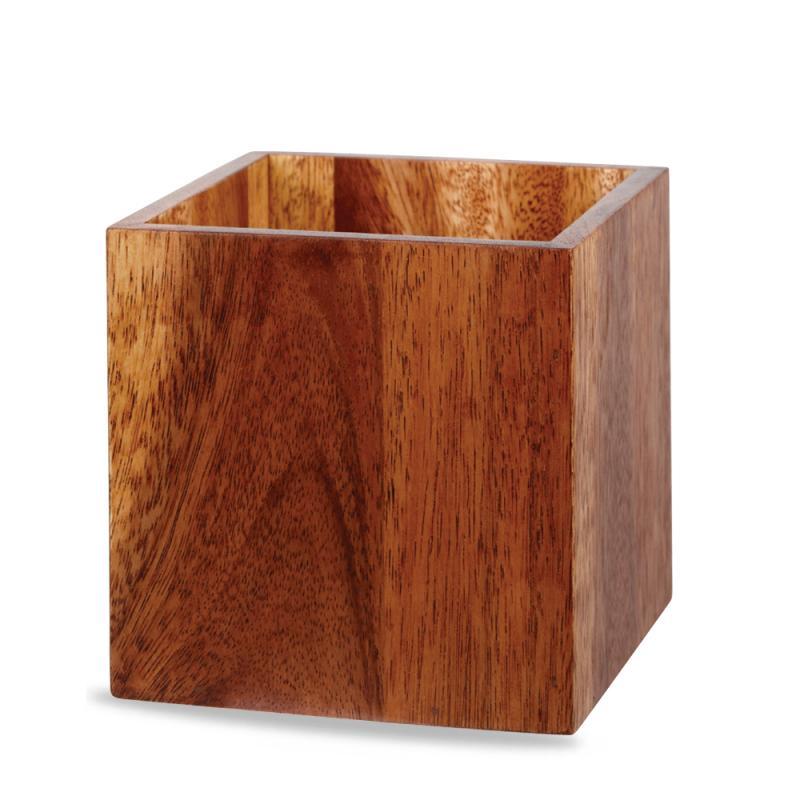 Kub 15 x 15 x 15 cm trä