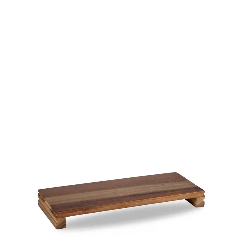 "Wood  Medium Rectangular Pres. Board 15 3/5X6 1/3X1 3/5"" Box 4"