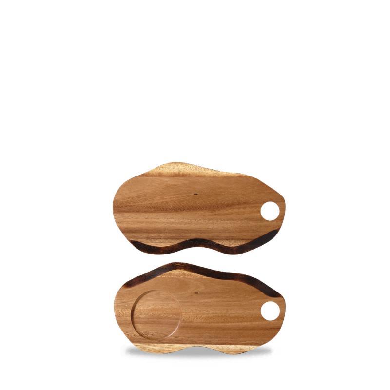 Wood Small Organic Board 24Cm Box 4