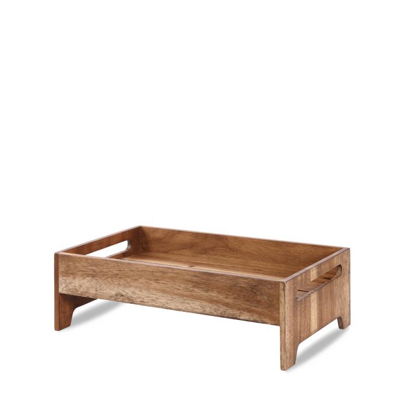 "Wood  Medium Rustic Nesting Crate 16.57X10.15X5.19"" Box 1"