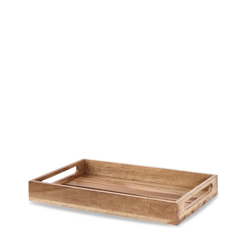 "Wood  Small Rustic Nesting Crate 15.63X10.15X1.96"" Box 1"