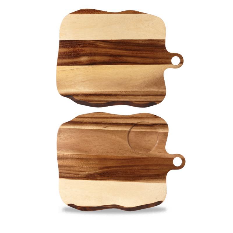 Wood Square Organic Paddle Board 35Cm Box 4