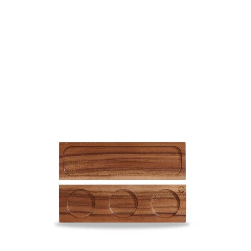 "Wood  Rect Board 10 5/8"" X 3 1/2"" Box 4"
